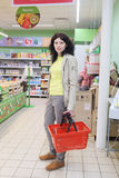 Supermarket Pyaterochka with the most affordable prices Royalty Free Stock Photos