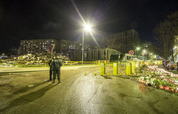 Supermarket's roof collapsed in Riga, Latvia, Europe Royalty Free Stock Photography
