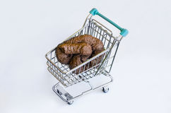 Supermarket shit Royalty Free Stock Photography
