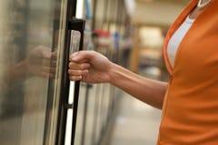Supermarket Shopper royalty free stock photography