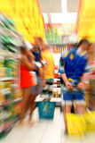 Supermarket shopping Royalty Free Stock Image