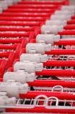 supermarket wózka Zdjęcie Royalty Free