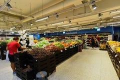 Supermarket w Helsinki, Finlandia Obrazy Stock