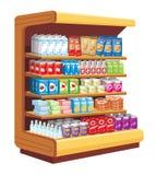 Supermarket. stock illustration