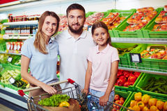 In supermarket Stock Photo