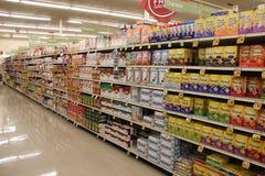 Supermarketa zakupy nawa zdjęcia stock