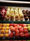 Supermarketfrukten Arkivfoto