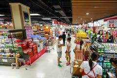 Supermarketinre Royaltyfria Bilder