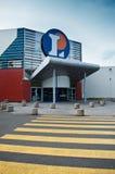 supermarketLeclercq tillträde Arkivbild