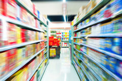 Supermarkets Royalty Free Stock Images