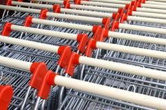 supermarkettrolley Arkivfoton
