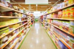 Supermarkt Stock Foto
