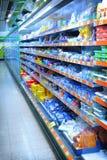 Supermarkt stock fotografie
