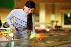In supermarkt Royalty-vrije Stock Foto's