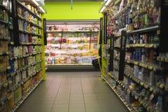 Supermarkt Stock Foto's