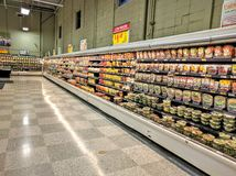 supermarkt Stockbild