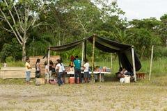 Supermarkt in Amazonië Stock Afbeeldingen