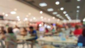 Supermarkt im undeutlichen Hintergrund Stockfoto