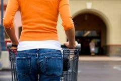 Supermarkt-Käufer Lizenzfreies Stockfoto