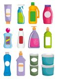 Supermarkt vastgestelde producten met speciale aanbieding vector illustratie