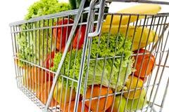 Supermarkt-Wagen lizenzfreie stockbilder