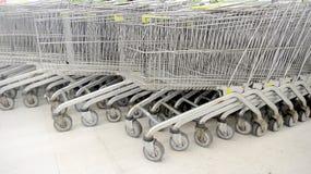 Supermarktkar Royalty-vrije Stock Afbeeldingen