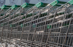 Supermarktkarretje Stock Afbeelding