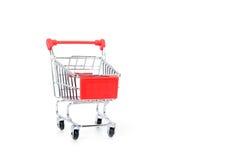 Supermarktkarretje Stock Foto's