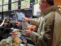 Supermarktweekend het winkelen Royalty-vrije Stock Afbeelding