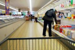 Supermercado Foto de Stock