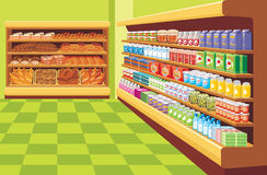 Supermercado. Imagens de Stock Royalty Free