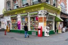 Supermercado chinês do prazer oriental, Gerrard Street, bairro chinês, Londres, Inglaterra, Reino Unido imagem de stock