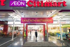 Supermercado Citimart, Saigon Foto de archivo libre de regalías