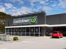 Supermercado da contagem regressiva, Nova Zelândia fotografia de stock royalty free