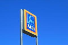 Supermercado de ALDI Foto de Stock Royalty Free