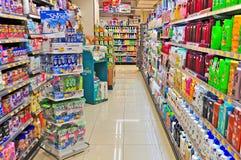 Supermercado de Hong-Kong imagenes de archivo