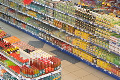 Supermercado de la comida Imagen de archivo