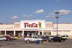 Supermercado de la fiesta en Tejas Fotos de archivo libres de regalías