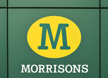Supermercado de Morrison de Reino Unido o 1º de dezembro Foto de Stock