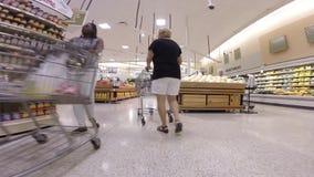 Supermercado de Publix almacen de metraje de vídeo