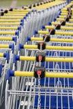 Supermercado del carro imagen de archivo