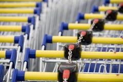 Supermercado do carro Foto de Stock