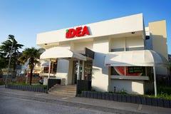 Supermercado IDEA Fotos de archivo libres de regalías