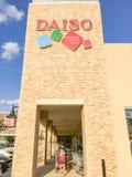 Supermercado japonés de Daiso en Carrollton, Tejas, los E.E.U.U. Fotografía de archivo