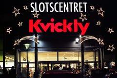 Supermercado Kvickly en Dinamarca Fotografía de archivo libre de regalías