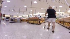 Supermercado video de Hyperlapse Publix metrajes