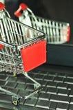Supermercado virtual Imagens de Stock