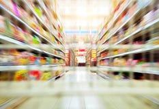 supermercados Imagen de archivo libre de regalías