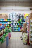 Supermercato Fotografia Stock Libera da Diritti