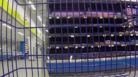 Supermercato video d archivio